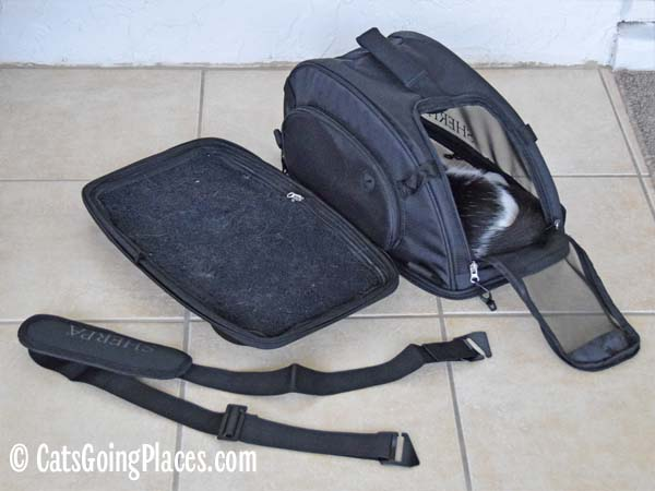 parts of Sherpa comfort ride carrier