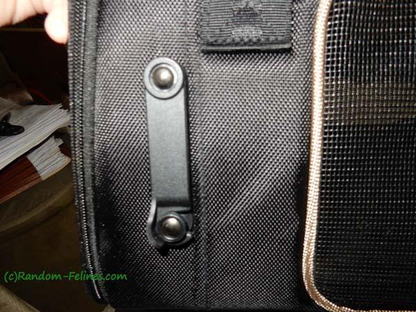 Gen7 Commuter seat belt latch